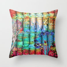 ABSTRACT - Friendship Throw Pillow