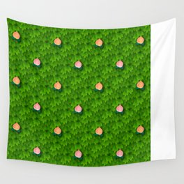 Fruit Harvest - Peach Wall Tapestry