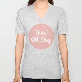 Rosé All Day Unisex V-Neck