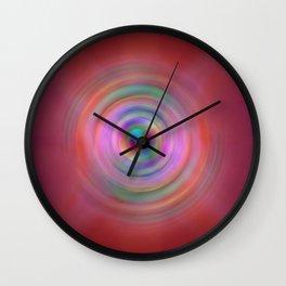 Rings of Infinity 1 Wall Clock