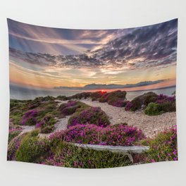 Headon Hill Sunset Isle Of Wight Wall Tapestry