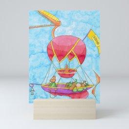 Travelling Merchant Mini Art Print