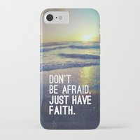 pocketfuel iPhone & iPod Cases featuring JUST HAVE FAITH by Pocket Fuel