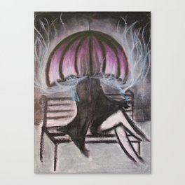Smoke Screen #2 (phones and stuff) Canvas Print
