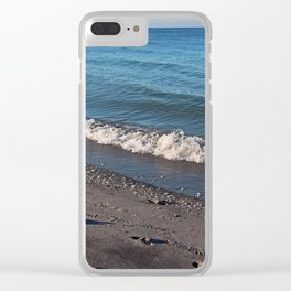 Leaving it All Behind Clear iPhone Case