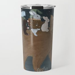 the moon bear Travel Mug