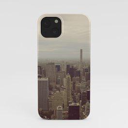 Manhattan Morning iPhone Case