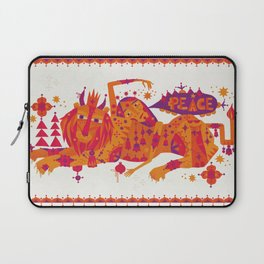 I Wish You Peace Laptop Sleeve