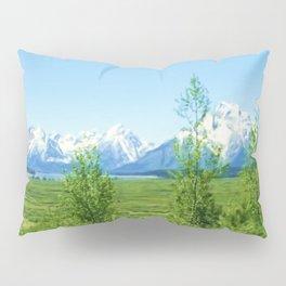 Spring Tetons Pillow Sham