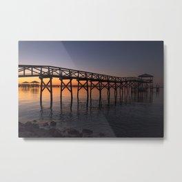 Louisiana Sunrise Metal Print