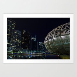 Webb Bridge  Art Print