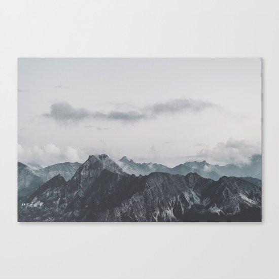 Calm - landscape photography Canvas Print
