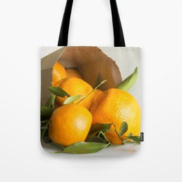 Mandarins in a bag Tote Bag