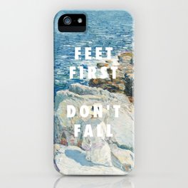 Childe Hassam, The South Ledges, Appledore (1913) / Halsey, Roman Holiday (2015) iPhone Case