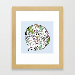 Laughter Framed Art Print
