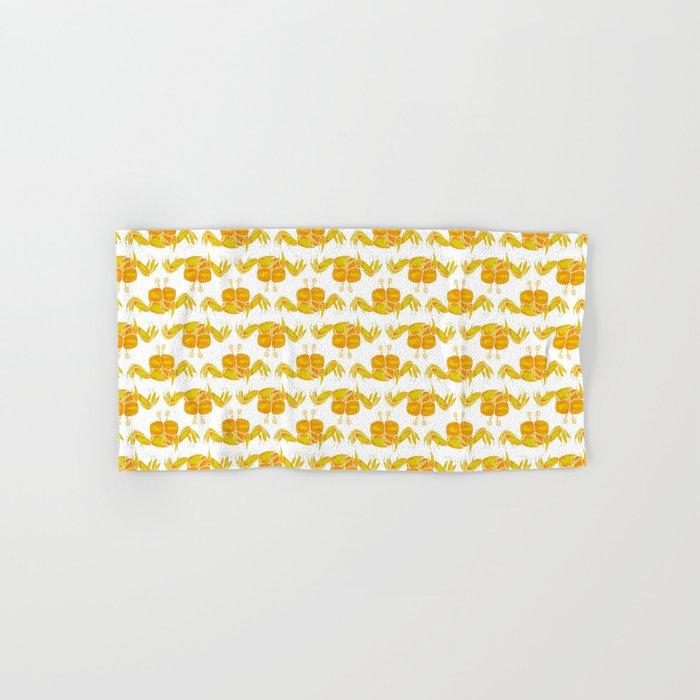 Cute Yellow Crab Hand & Bath Towel