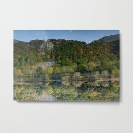 Upside down reflections Metal Print