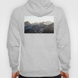 Mountains in Winter Hoody