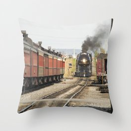 Strasburg Railroad Series 9 Throw Pillow