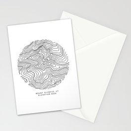 Mount Olympus, UT Stationery Cards