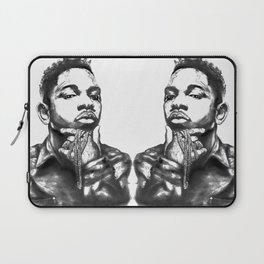 Kendrick Lamar Lithograph Laptop Sleeve