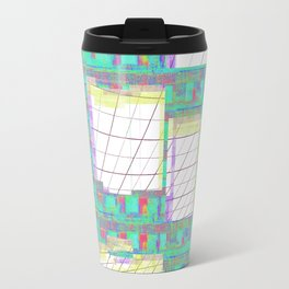 Glitched  Travel Mug