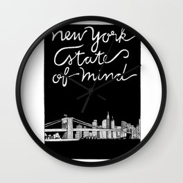 New York State of Mind Wall Clock