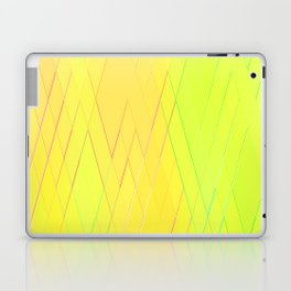 Re-Created Vertices No. 25 by Robert S. Lee Laptop & iPad Skin