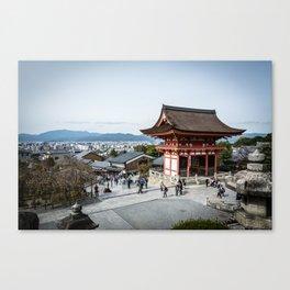 Japanese temple Canvas Print