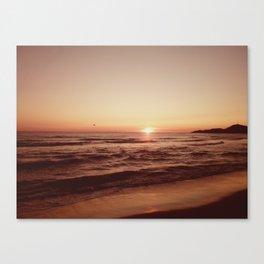 Magical Sunset Canvas Print