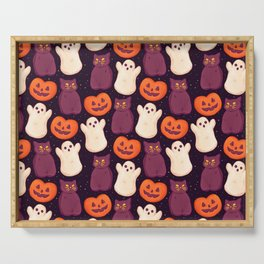 Halloween Marshmallows Serving Tray