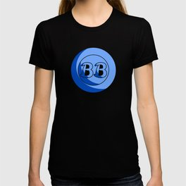 Blue Button Short Film Logo T-shirt