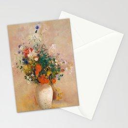 Odilon Redon - Vase of Flowers (1906) Stationery Cards