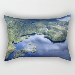 Misty Fiords national monument 2 Rectangular Pillow