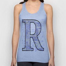 """Proud to be """"R"""" Unisex Tank Top"""