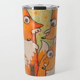 Fox Family Travel Mug