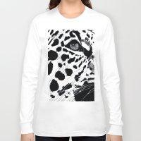 cheetah Long Sleeve T-shirts featuring cheetah by Augusto Menestrina