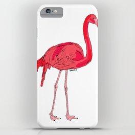 Fifi the Pink Flamingo iPhone Case