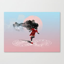 Play hard Canvas Print