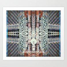 ?4 Art Print