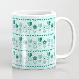 LOVE GARDEN - SEAFOAM Coffee Mug