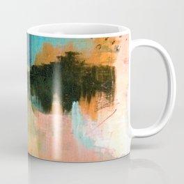 Walk With Me - an acrylic and ink abstract Coffee Mug