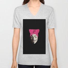 P for Vendetta Unisex V-Neck