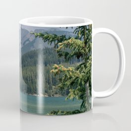 Lake Minnewanka Coffee Mug