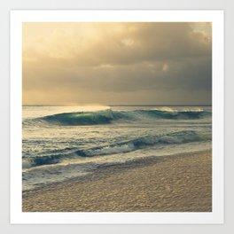 Waves of Light Art Print