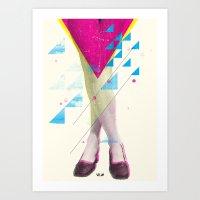 legs Art Prints featuring Legs by Guilherme Rosa // Velvia
