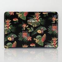jurassic park iPad Cases featuring Classic Jurassic by Josh Ln