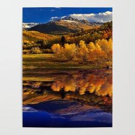 Autumn Mountain Landscape Poster