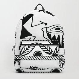 Warli Art Backpack