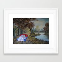thegnarledbranch Framed Art Prints featuring Memory Lane by TheGnarledBranch
